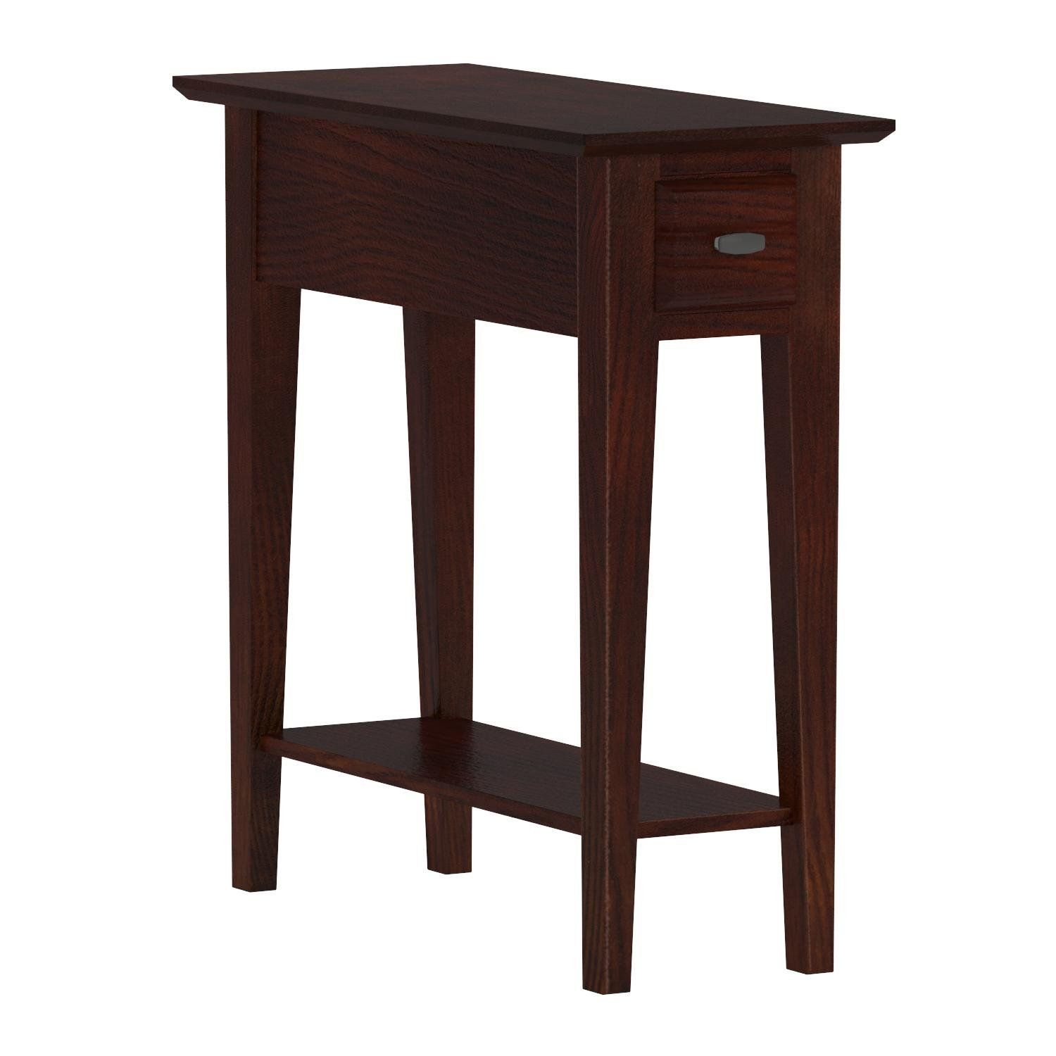Leick 10071 Ch Chairside Recliner End Table You Can Find Out More Details At The Link Of The Image This Is An A In 2020 Chair Side Table Recliner Table End Tables