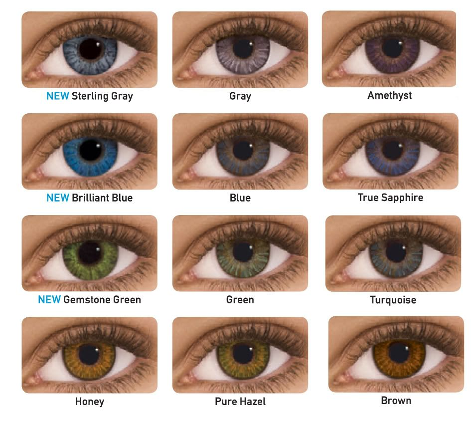Colored Contacts for Brown Eyes | Fashion contact lenses, Lenses ...
