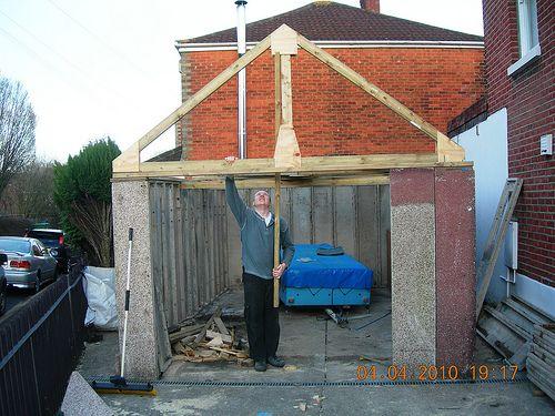 Image Result For Garage Roof Truss Garage Renovation Roof Trusses Garage Roof