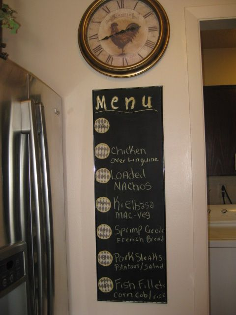 Seen one of these on pinterest.  I made this one for my house.