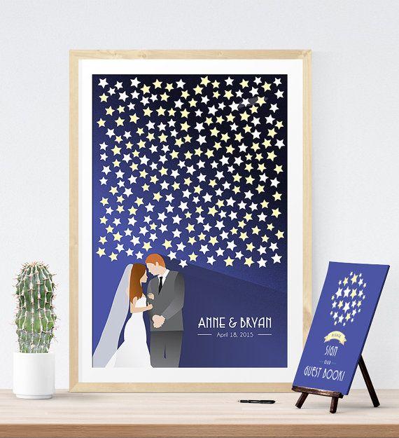 Wedding Guest Book Alternative Print For Art Deco By Mdbweddings Wedding Guest Book Wedding Guest Book Alternatives Wedding Guest Signing
