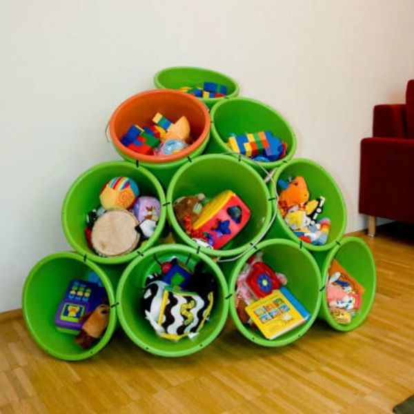 11 Tips For Keeping Kids Toys Organized: 11 Genius Ways To Organize Kids' Stuff So You Won't Step