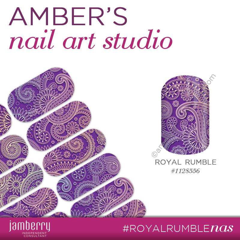 Royal Rumble - Nail Art Studio Design #nailartstudiojn #jamberry ...