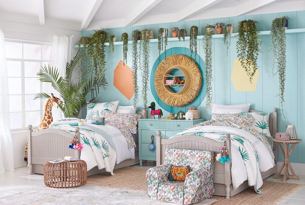 Best Pottery Barn Jungalow Bohemian Kids Room Decor With Images