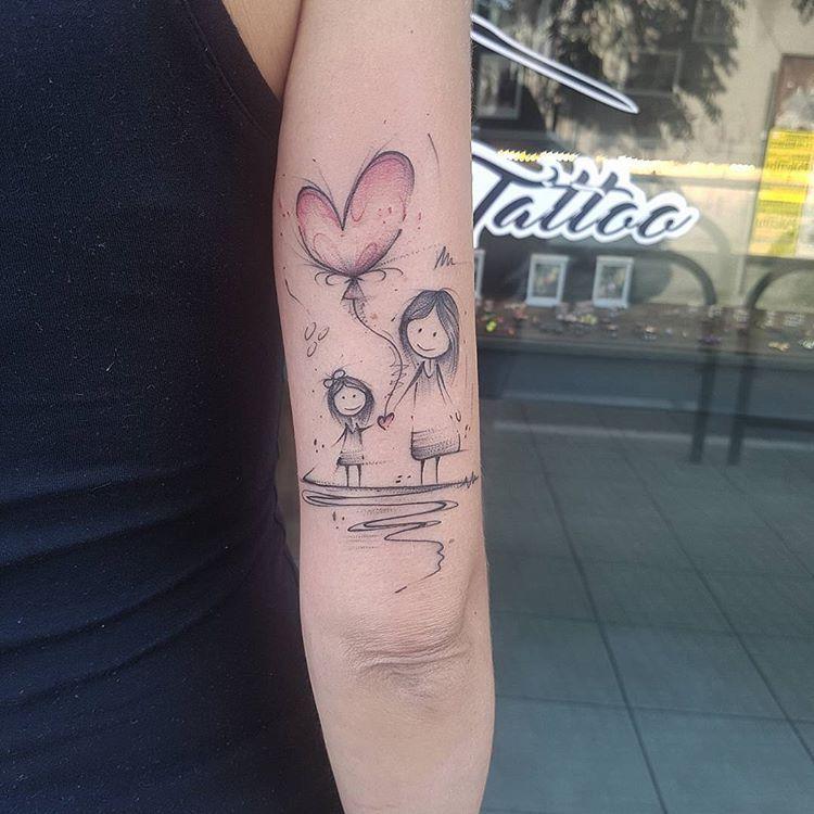 """Photo of Mariano Giorgetti on Instagram: """"Mamma e Figlia  #inkstinctsubmission #tattooersubmission #tattoodo #tattooer #tattoo #tattooartist #tattoos #tattooed #tattoomagazine…"""""""