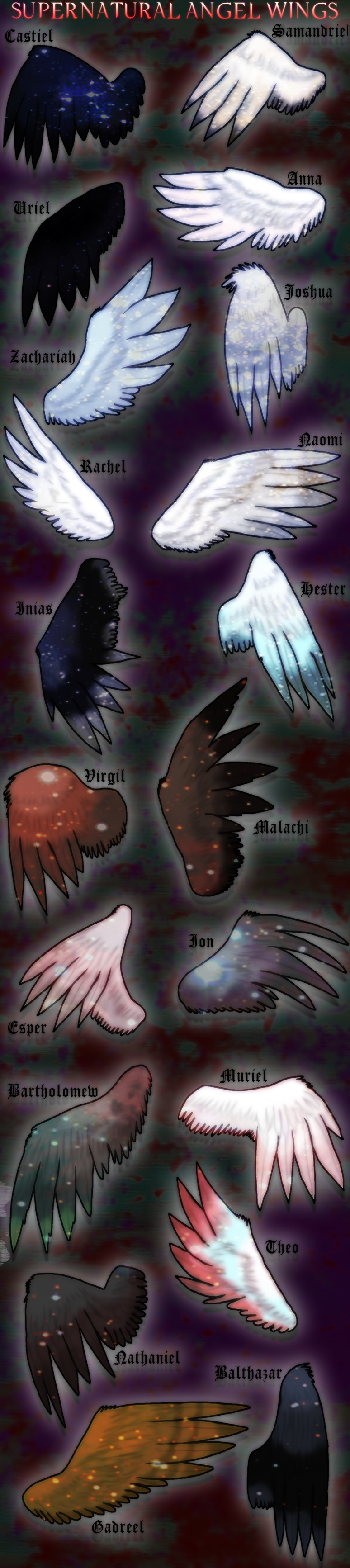 Supernatural angel wings supernatural pinterest supernatural supernatural angel wings buycottarizona