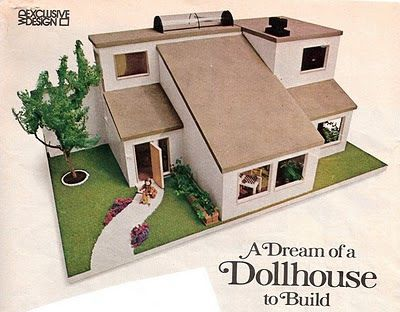 Free modern doll house plans cardboard dollhouse plans for Paper house planner
