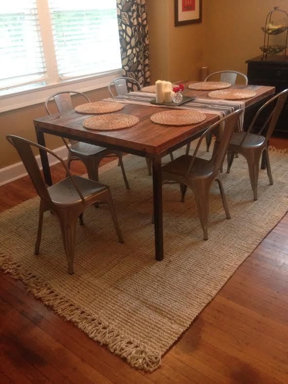 Nicole Dining Table Built By Metal Fred For A Client In Nashville - Nashville dining table