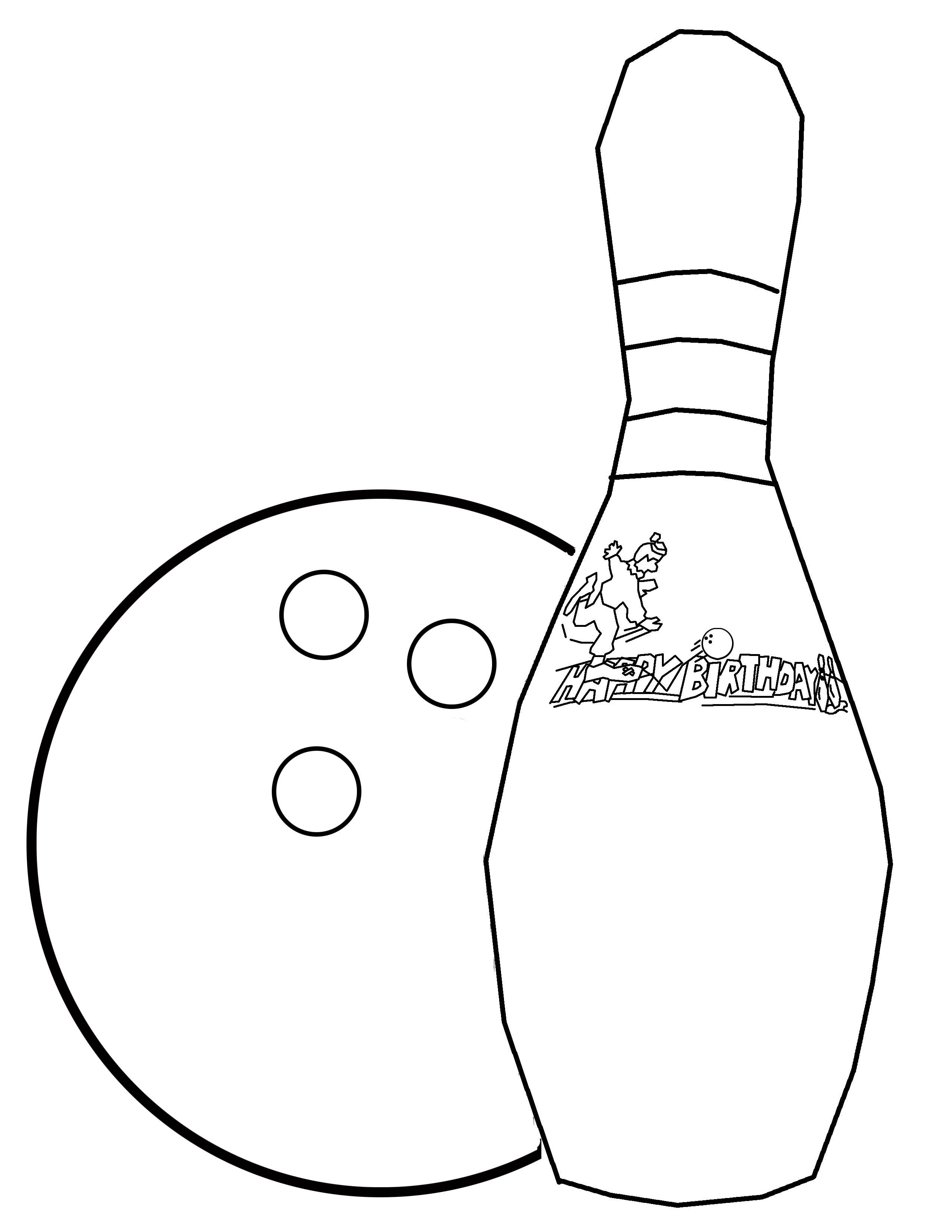 Bowling Coloring 15 Jpeg 2550 3300 Coloring Pages Bowling