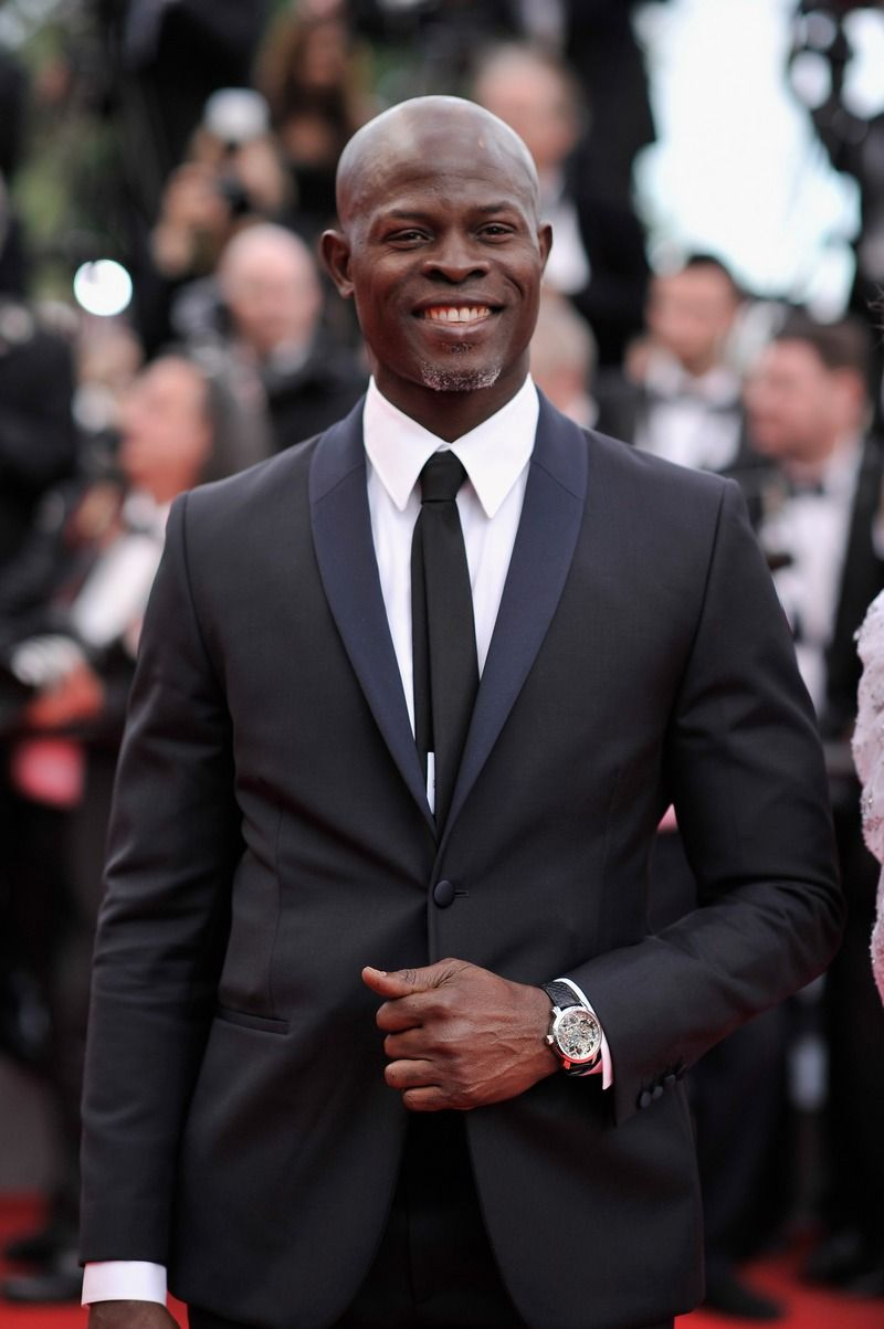 Djimon Hounsou was seen on opening night at the 'Grace of Monaco' premiere. #Style #Hollywood #Fashion #Handsome #Cannes2014
