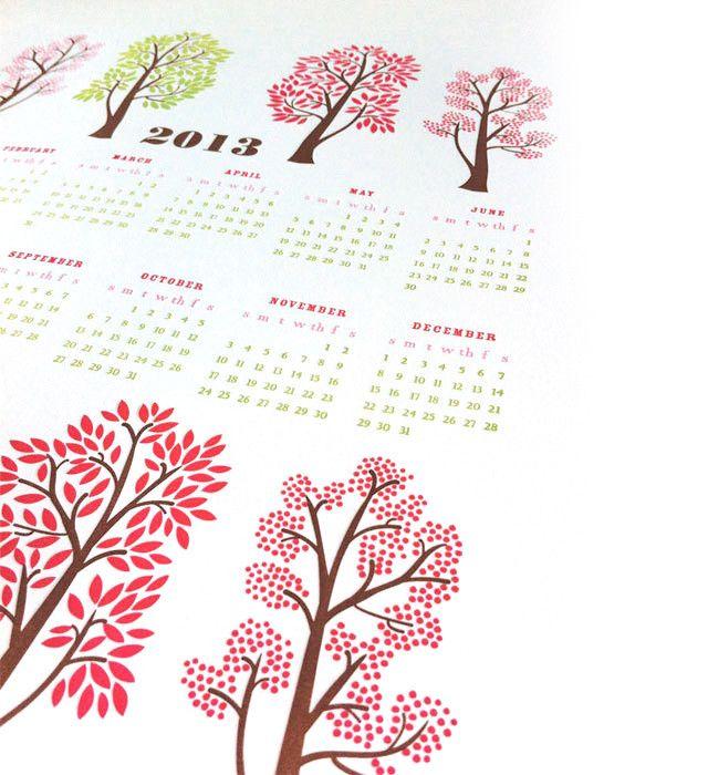 calendar 2013 - etsy.com/dutchdoorpress