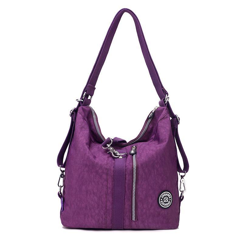 c5c1721e5d4 Fashion Women Messenger Bags Handbag Waterproof Nylon Shoulder Bag  Crossbody Bags Women Casual Tote bolsa feminina