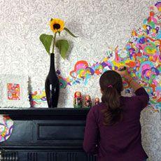 Coloring In Wallpaper