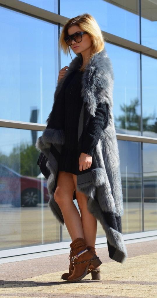 Kamizelka Futrzana Prasowana Welna Smlxl 3kolory 8458552250 Oficjalne Archiwum Allegro Fashion Coat Fur Coat