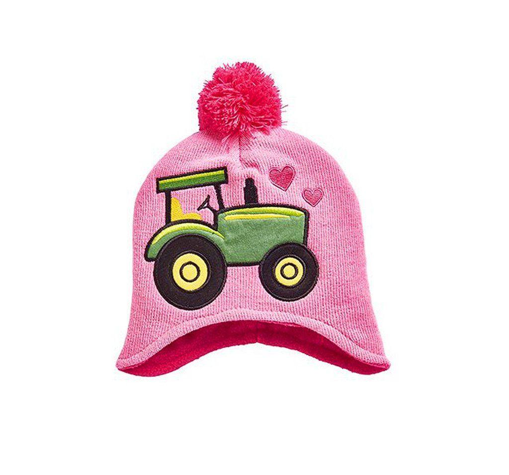 Toddler John Deere Tractor Stocking Cap (Pink) - www.greentoysandmore.com 403106e0819f