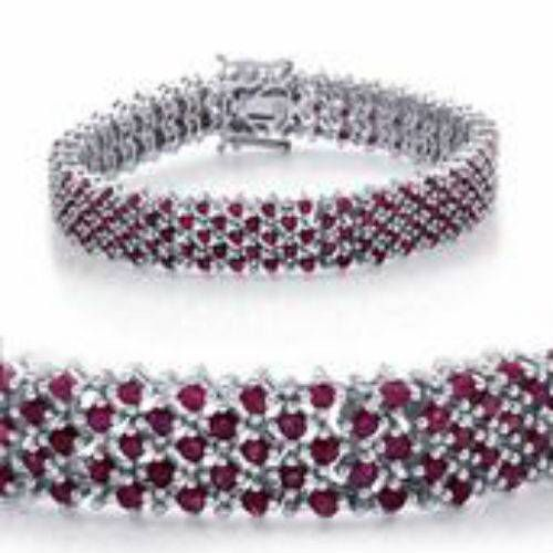 Check out this Genuine Ruby Bracelet on BriskSale: