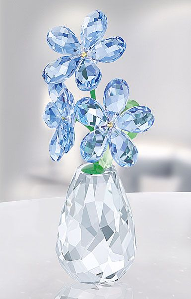 3c7f6d72e Swarovski Crystal, Flower Dreams Forget Me Not | Crystal - Swarovski ...