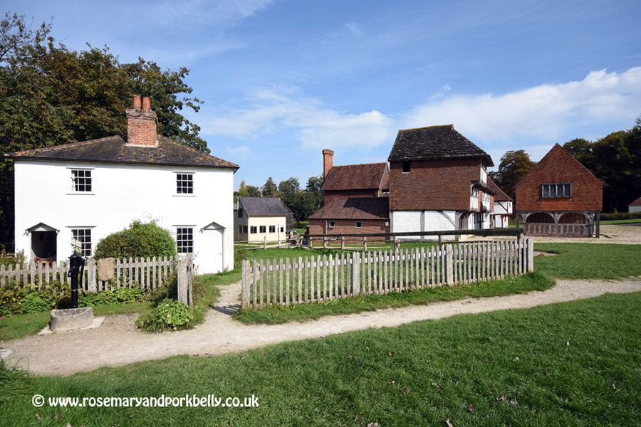 Living history at the Weald and Downland Museum Medieval