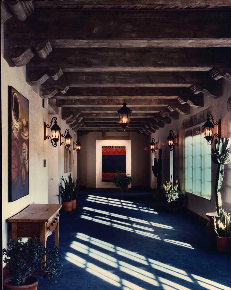 Santa Fe Hilton Santa Fe, New Mexico restored by Rodger