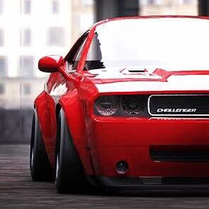 Rocket Bunny Challenger Sexy Metal Cars Super Sport Cars Sport