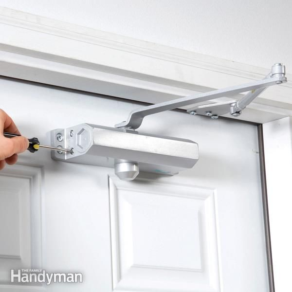 Install A Hydraulic Door Closer Door Closer Fire Rated