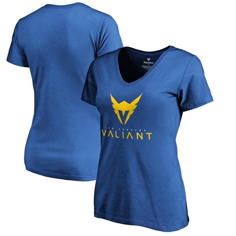 Los Angeles Valiant Fanatics Branded Women S Team Identity T Shirt Powder Blue In 2020 Shirts T Shirt Sweatshirts