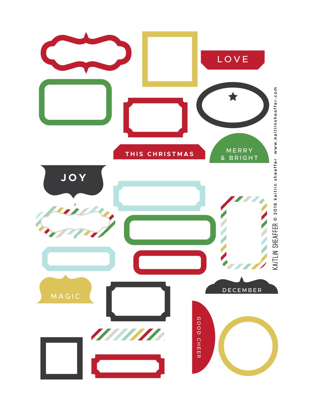 Basis labels in allen Formen und Farben   bIBEL jOURNALING ...