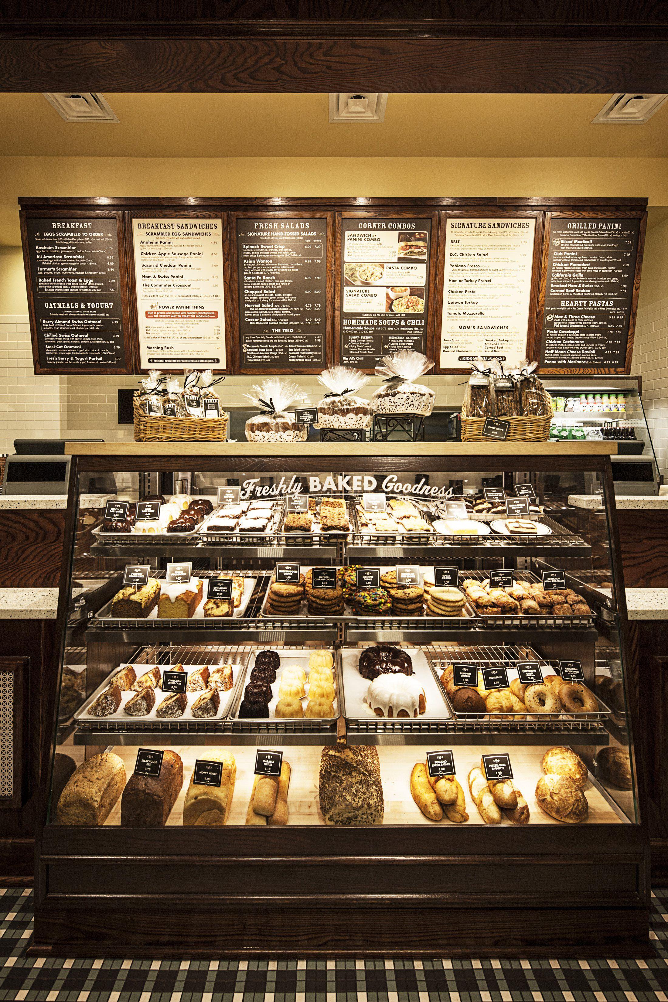 Press images corner bakery cafe bakery case bakeries for Case interior design