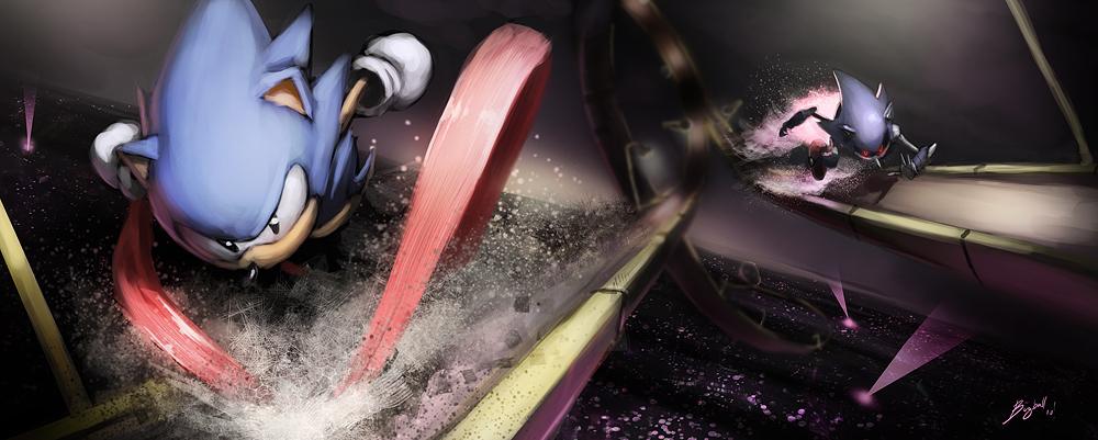 Sonic Journeys Metal Sonic t Sonic the Hedgehog