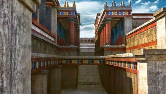 Το Παλάτι της Κνωσού σε 3D Βίντεο