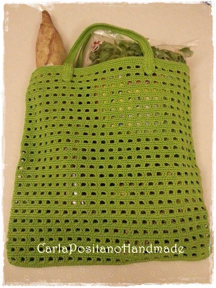 Apple Bag Perchè non essere trendy anche quando si va a fare la spesa? Certamente!!! Ecco che mi è venuto in mente di fare que...