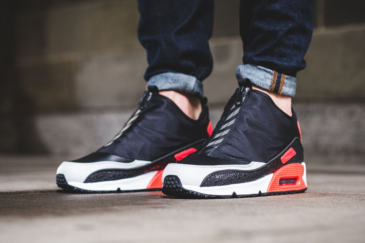Accents Sole Utility 90 Air Debuts The Infrared Nike Max With wSpWq