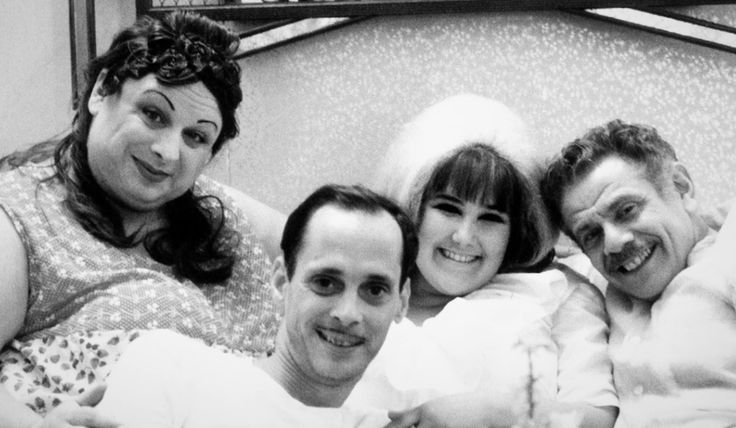 Divine John Waters Ricki Lake And Jerry Stiller On The Set Of
