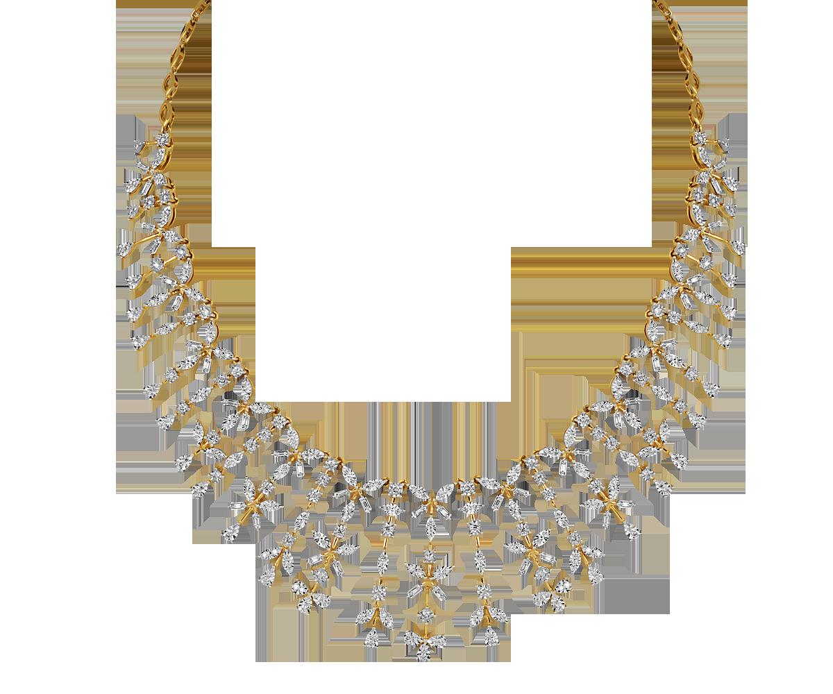 c468ff0951afb ORRA Diamond Necklace   Jewelry   Diamond, Bridal necklace, Jewelry