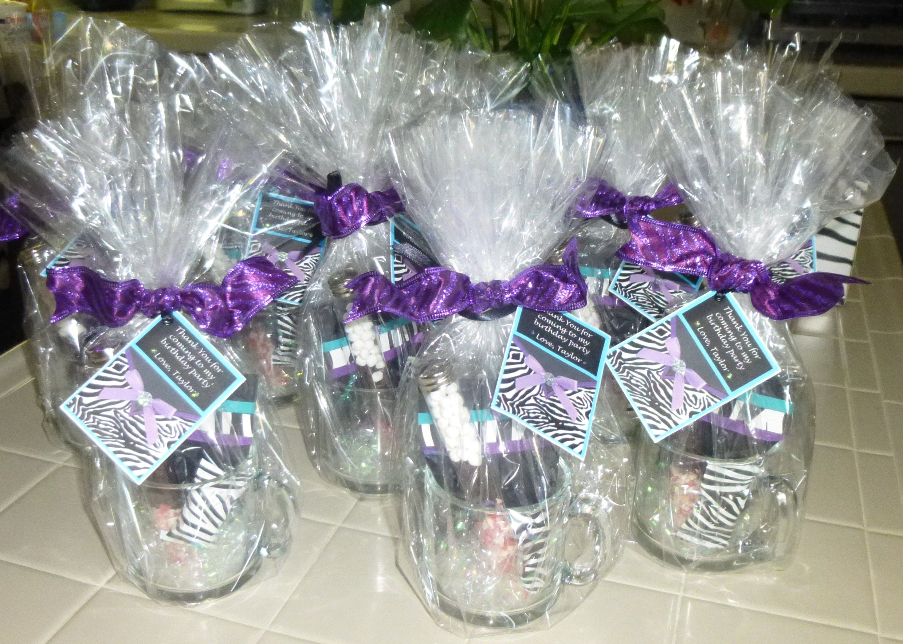 Party favors for 12 year old girls craft creations for Crafts for 10 year old birthday party