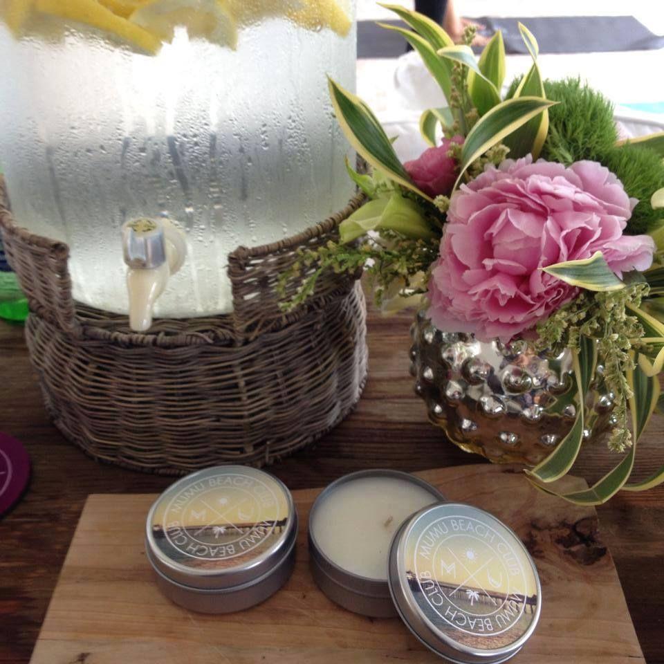 Show Me Your Mumu custom blogger gifting tin candles