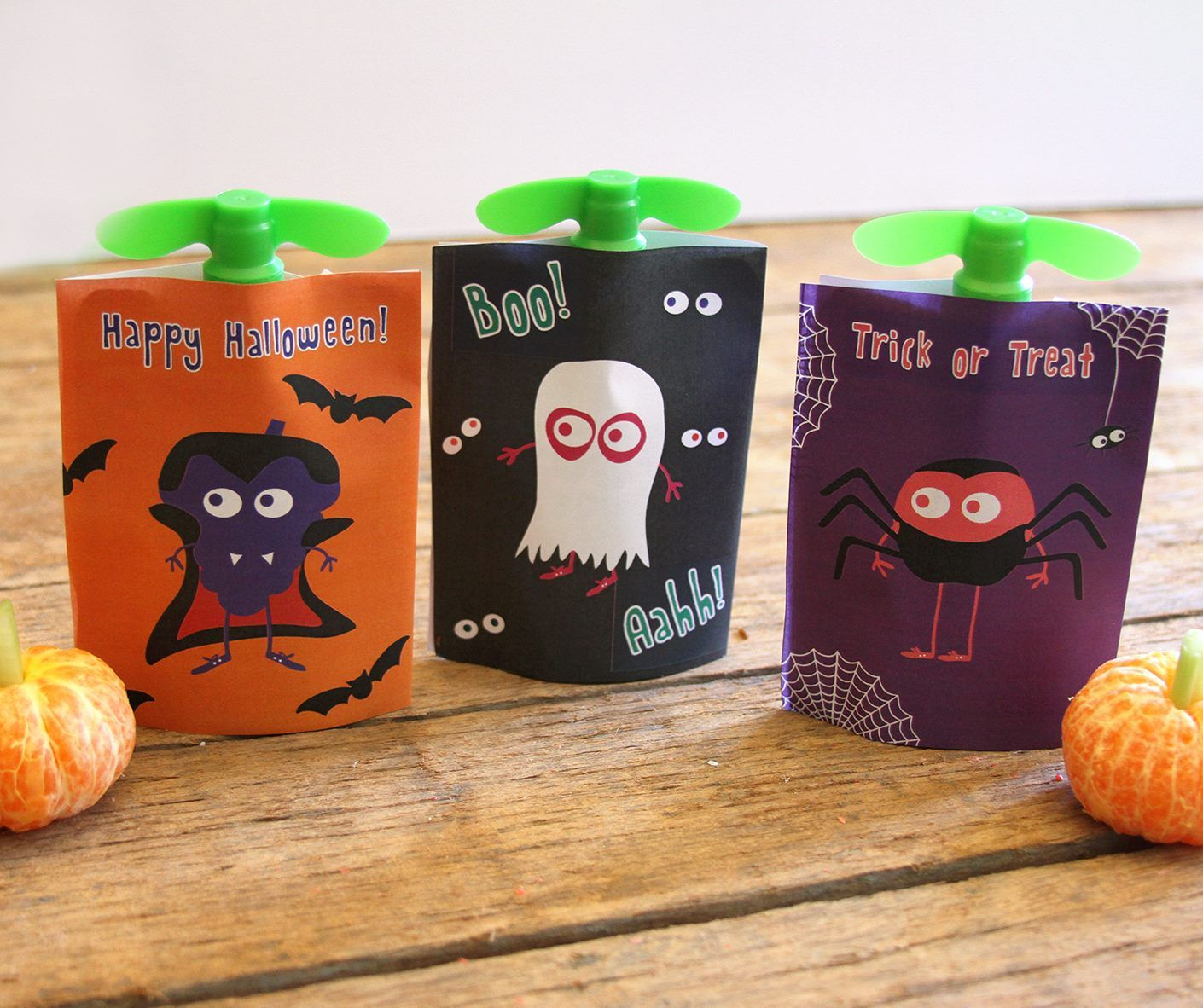 GoGo Squeeze Applesauce Halloween Pouch Covers   Halloween 2016 ...