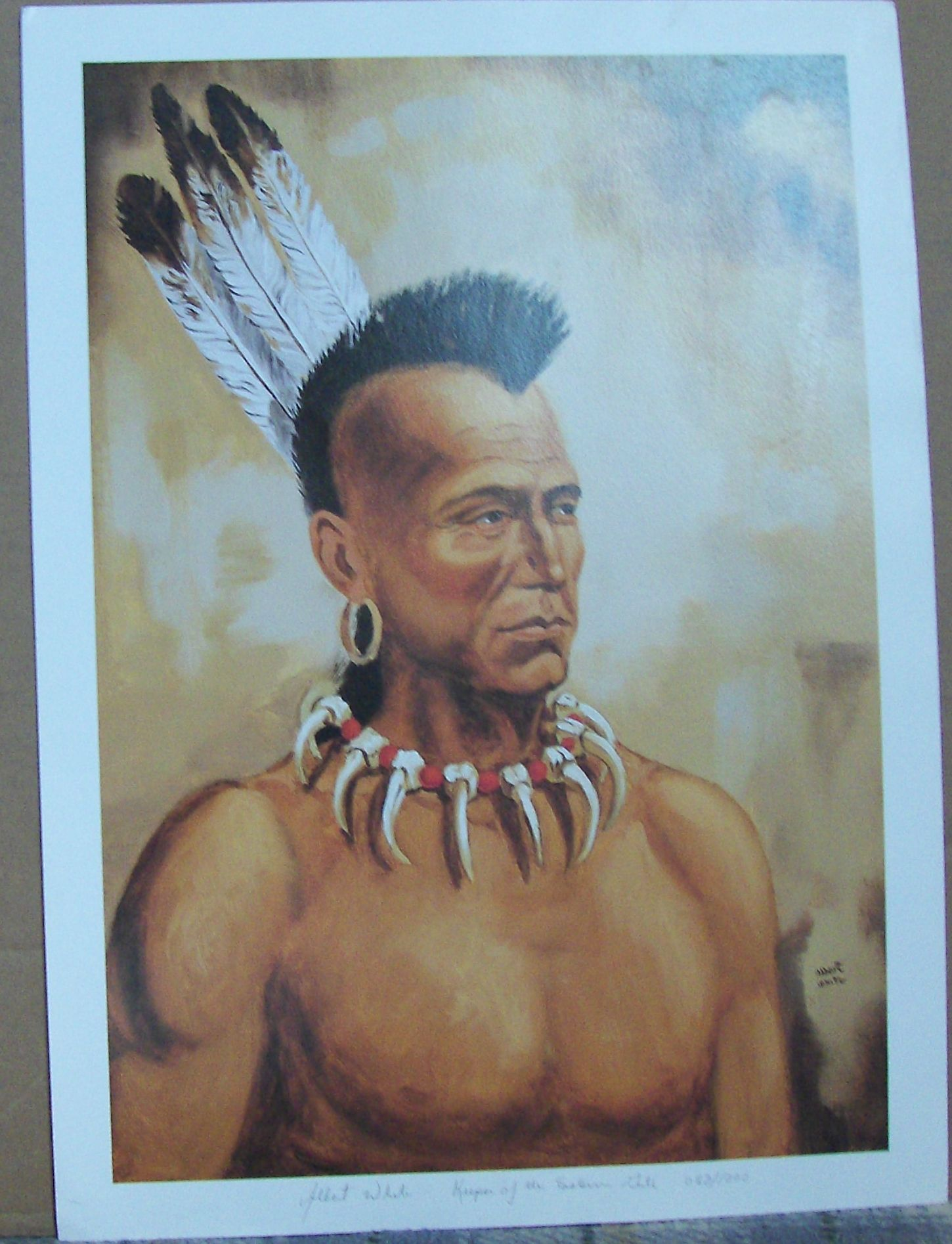 image detail for -mohawk indian - keeper of the eastern gate