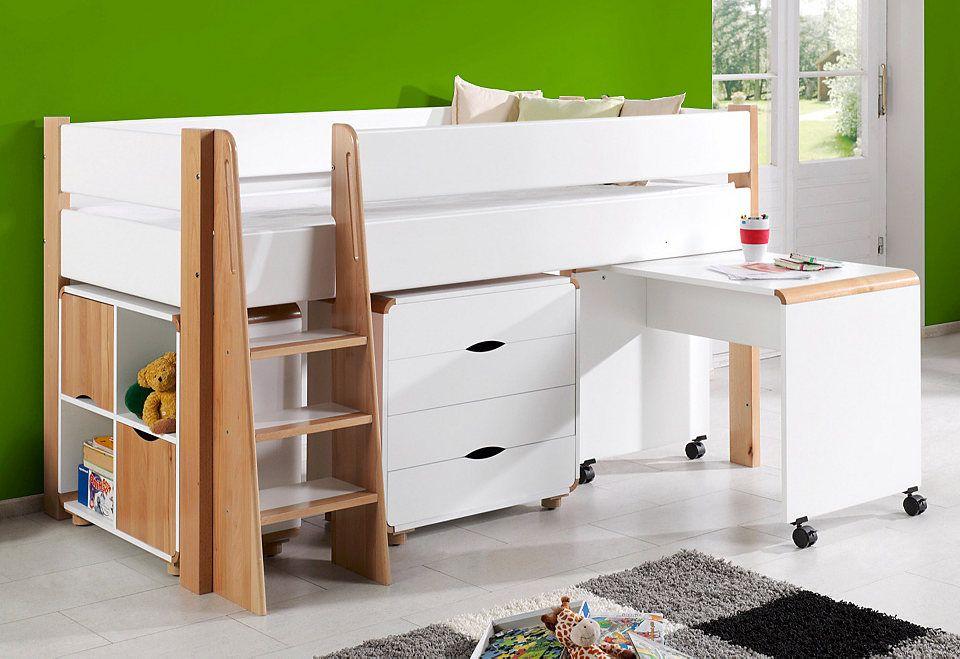 Relita Halbhohes Bett >>Samuel | Hochbetten, Suchmaschinen und Betten