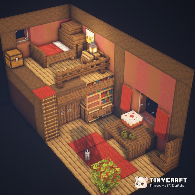 Cozy bedroom & living room I made :)
