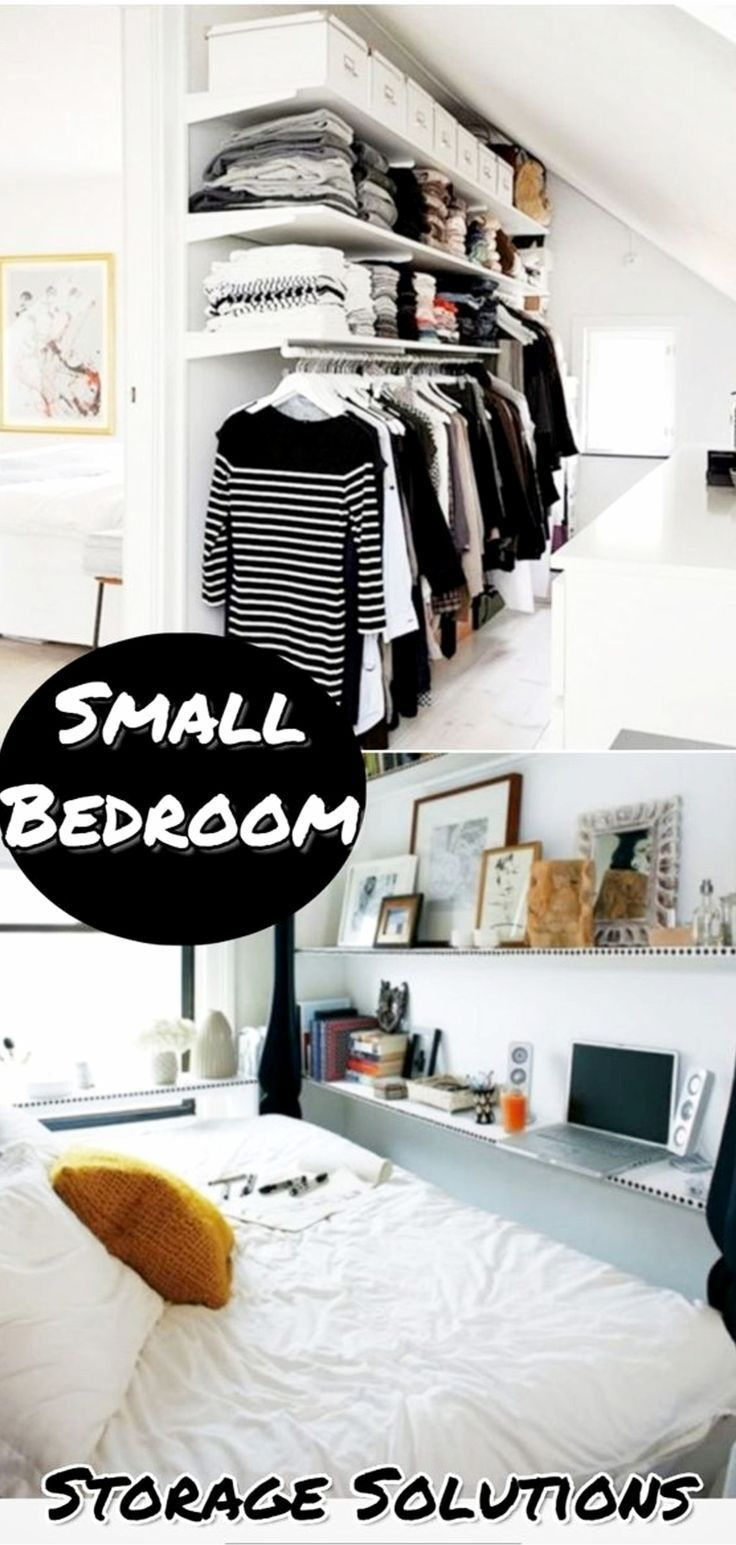 38 Creative Storage Solutions For Small Spaces Awesome Diy Ideas Small Bedroom Storage Solutions Storage Solutions Bedroom Small Space Storage Bedroom