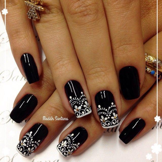 Elegantes y lindas.. | Uñas | Pinterest | Elegante, Diseños de uñas ...