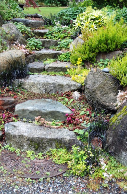 Lovely Foot Path  Exteriorscapes llc Seattle WA