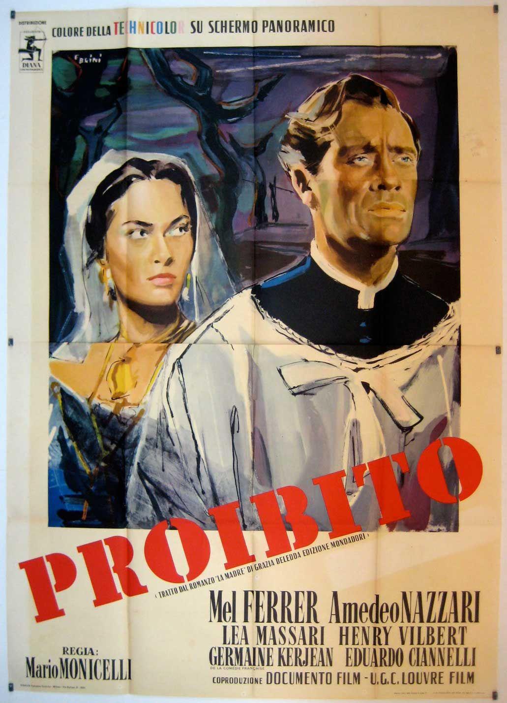 Proibito Film Posters Art Movie Stars Movie Posters
