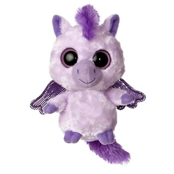 834909f151f YooHoo and Friends Lilac the Stuffed Purple Pegasus by Aurora