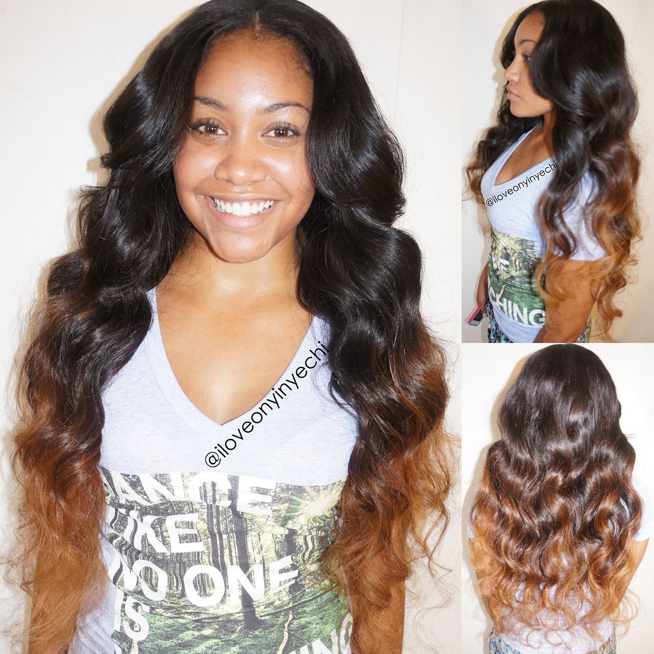 Ombre Weave Hairstyles Tumblr | www.imgkid.com - The Image ...