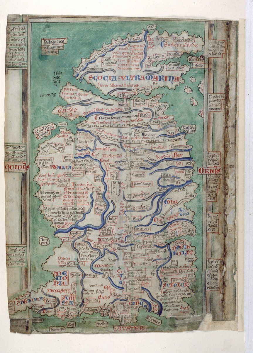 A medieval view of Britain one of