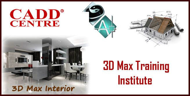 Cadd Centre Conduct 3d Max Tarining Classes We Helps You To