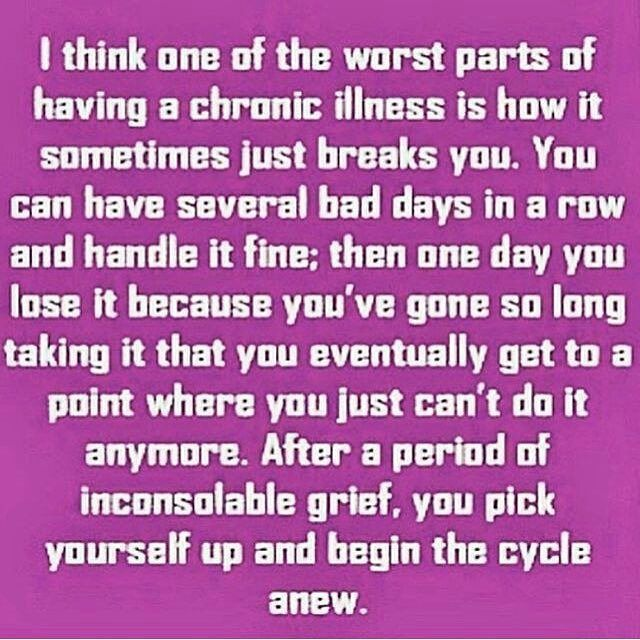 Living With Chronic Pain Quote Chronic Pain Try To Be Positive Delectable Chronic Pain Quotes