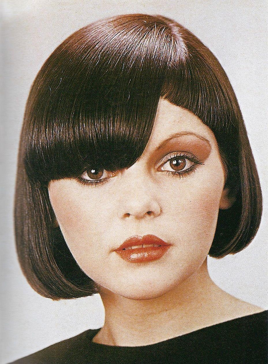 asymmetrical bob haircuts vintage